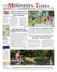 Mountain Times - Volume 49, Number 30 - July 22-28, 2020