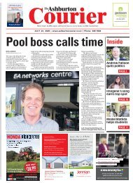 Ashburton Courier: July 23, 2020