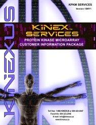 commercial invoice - Kinexus Bioinformatics