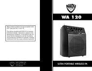 WA 120 - Radio Shack