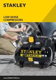 STANLEY - Low Noise Compressors - EN