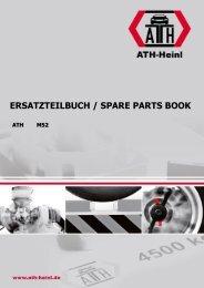 ATH-Heinl ERSATZTEILBUCH SPARE PARTS BOOK M52