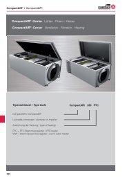 CompactAIR® Center Lüften - Rosenberg Ventilatoren GmbH