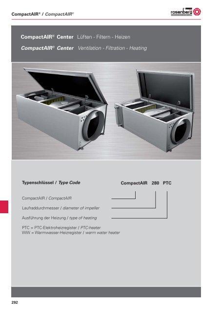 compactair center l ften rosenberg ventilatoren gmbh. Black Bedroom Furniture Sets. Home Design Ideas