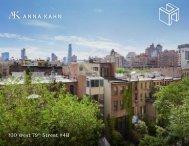130 West 79th Street, #4B Digital Brochure