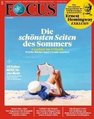 FOCUS Magazin 31:2020_Vorschau
