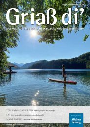 Griaß di' Magazin August/September 2020
