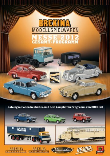 messe 2012 gesamt-programm - Modellbahnshop Sebnitz