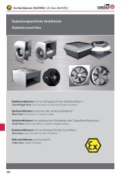 3G c IIB T3 (X) / II 2 G c IIB T3 (X) - Rosenberg Ventilatoren GmbH
