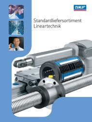 SKF Lineartechnik Standardliefersortiment DE - Ludwig Meister