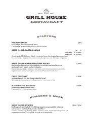 ROMANTIKA Grill House menu (24.07 - 30.09.20) EN-RU