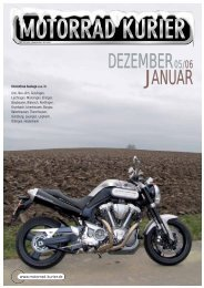 DEZEMBER JANUAR - Motorrad-Kurier