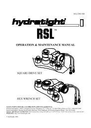 Rsl - Hydratight