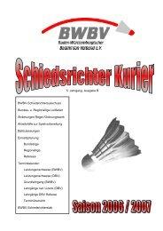Einsatzplan Regionalliga