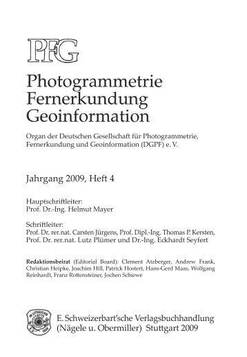 Jahrgang 2009, Heft 4 - DGPF