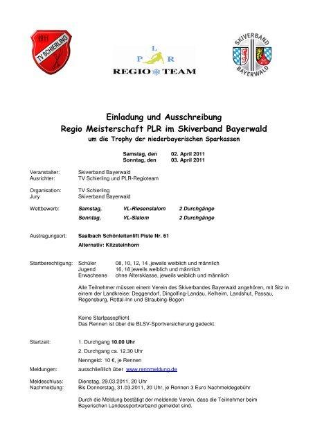 Ausschreibung_2011_2_PLR_01.pdf - Skiverband Bayerwald