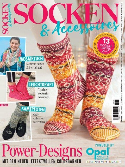 Zeitschrift Socken & Accessoires TZ 003