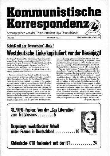 KK 20/77 - International Bolshevik Tendency