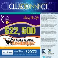 september - Wagga RSL & Commercial Club