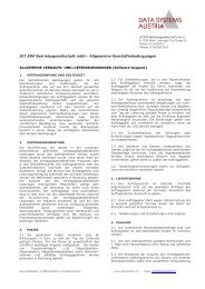 Agb-Sw-Support 1 - Data Systems Austria