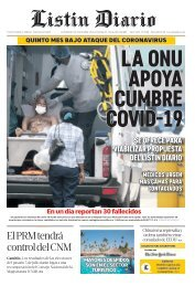 Listin Diario 25-07-2020