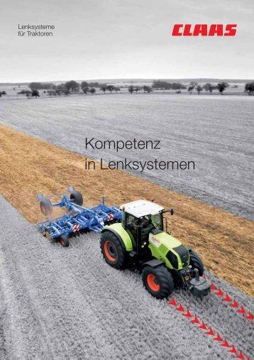 Kompetenz in Lenksystemen - Kaufmann Landtechnik GmbH