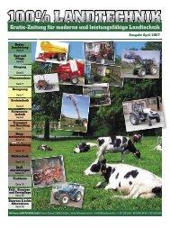 Ausgabe April 2007 - 100% LANDTECHNIK
