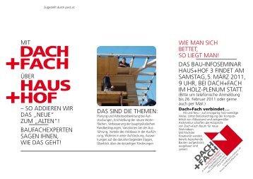 PDF Folder Haus+Hof - Dach & Fach