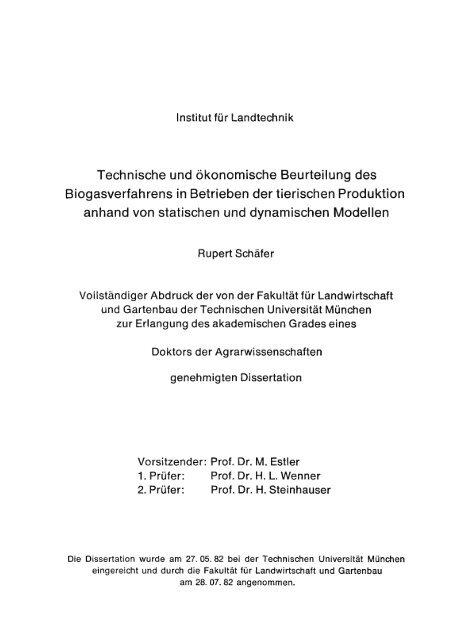 tum wzw dissertation