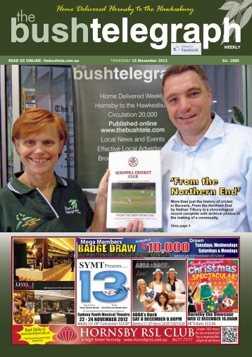 HORNSBY RSL CLUB - The Bush Telegraph Weekly