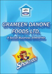 GRAMEEN DANONE FOODS LTD.