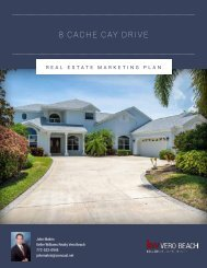 Luxury Real Estate Marketing Plan and Presentation - 8 Cache Cay Dr