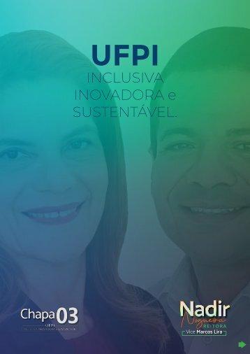 Carta Proposta CHAPA 03 - Nadir Nogueira (Reitora) | Marcos Lira (Vice-Reitor) - UFPI 2020-2024