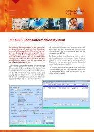 JET FIBU Finanzinformationssystem - Data Systems Austria