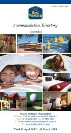 Accommodation Directory - Classic Holidays