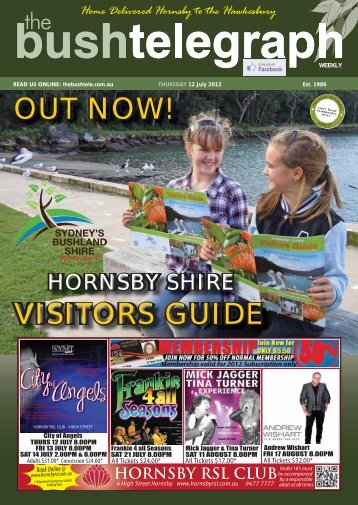 Hornsby Shire Visitors Guide - The Bush Telegraph Weekly