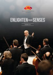 2013 Season Brochure - Queensland Symphony Orchestra