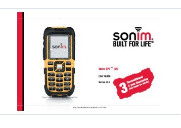 Outgoing calls - Sonim Technologies