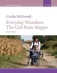 Cecilia McDowall Everyday Wonders upper voices version