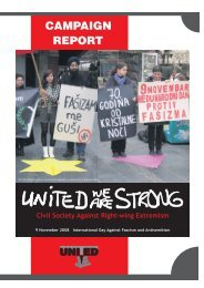 7 Tage Schlagzeilen - UNITED for Intercultural Action