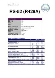 rs-50 (r442a) retrofit procedure to replace r22