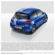 So sportlich, so schick! Im Clio Gordini R.S. trifft die technische ...