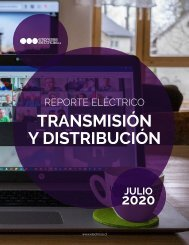REPORTE ELÉCTRICO JULIO 2020