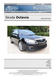 Skoda Octavia - Interex Automobile GmbH