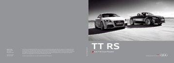 Audi TT RS Coupé/Roadster