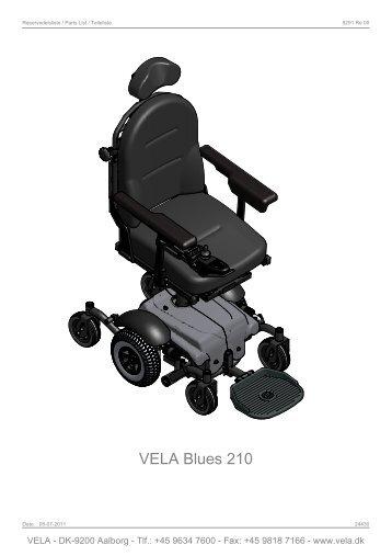 Reservedelsliste - Vela