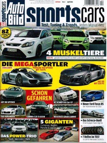 Download Vergleichstest Autobild Sportscars 04/10 - mcchip-dkr.com