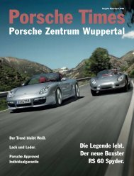 Ausgabe März / April 2008 - Porsche