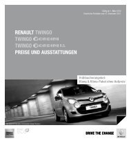 Renault twingo twingo twingo PReiSe und ... - Autowelt Barnim