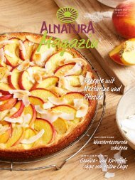Alnatura Magazin August 2020
